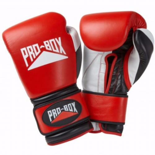 Pro-Box 'Pro-Spar' Boxing Gloves - Red